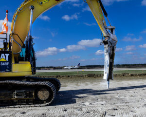 Taxiway WB project at George Bush Intercontinental Airport